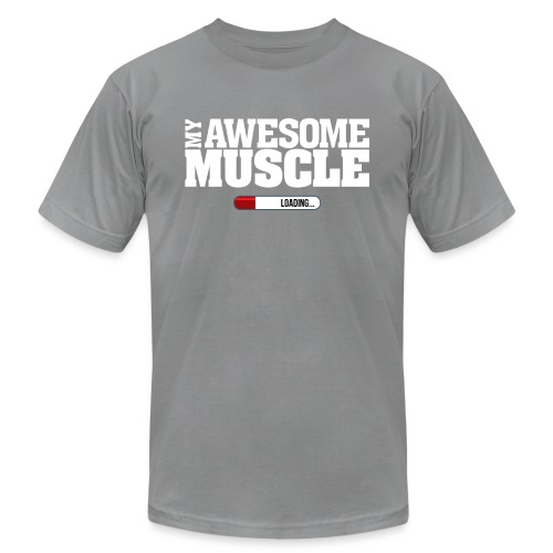 My Awesome Muscle - Unisex Jersey T-Shirt by Bella + Canvas
