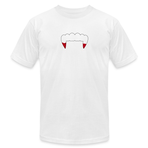 Vampire Fangs - Unisex Jersey T-Shirt by Bella + Canvas