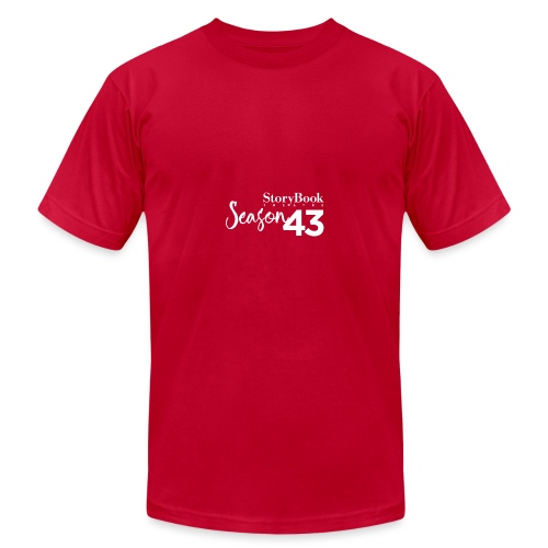 SBT43 Season43 LOGO WHT - Unisex Jersey T-Shirt by Bella + Canvas