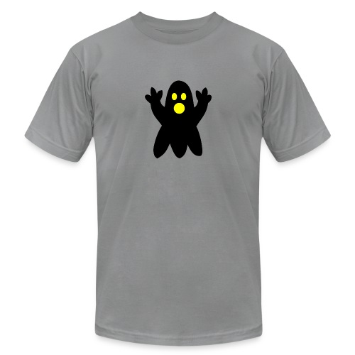 spooky halloween ghost - Unisex Jersey T-Shirt by Bella + Canvas