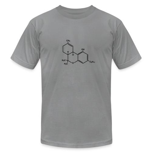 Marijuana (THC) Molecule - Unisex Jersey T-Shirt by Bella + Canvas