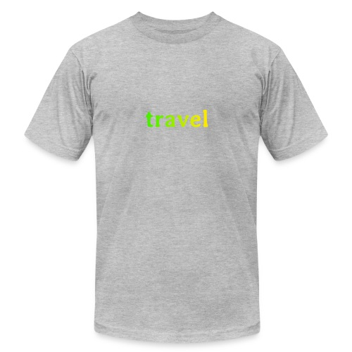 travel - Unisex Jersey T-Shirt by Bella + Canvas