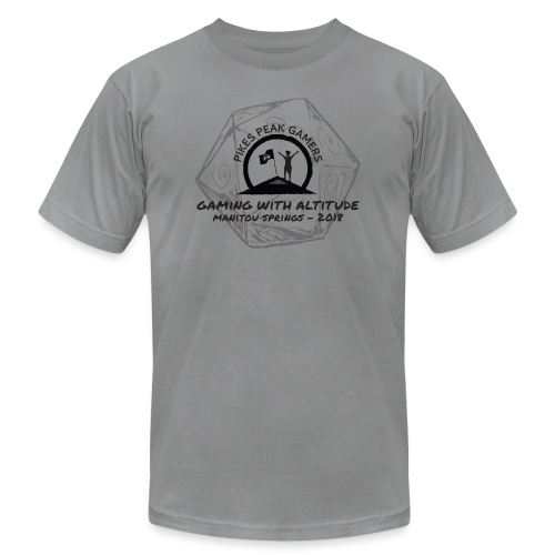 Pikes Peak Gamers Convention 2018 - Clothing - Men's  Jersey T-Shirt