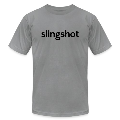 SlingShot Logo - Unisex Jersey T-Shirt by Bella + Canvas