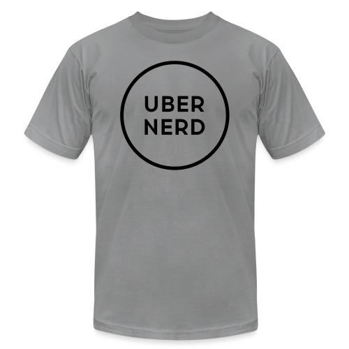 uber nerd logo - Unisex Jersey T-Shirt by Bella + Canvas