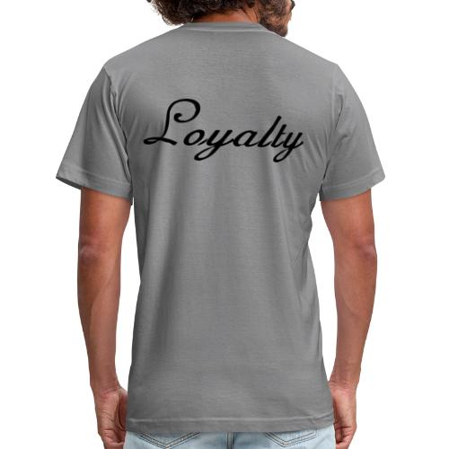 Loyalty Brand Items - Black Color - Unisex Jersey T-Shirt by Bella + Canvas