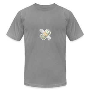 Money With Wings - Men's T-Shirt by American Apparel
