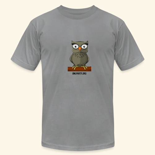 Owl Party - Men's Fine Jersey T-Shirt