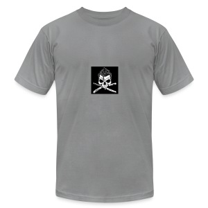 Greaser skull - Men's Fine Jersey T-Shirt
