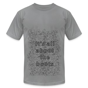 it's all about the boots - Men's Fine Jersey T-Shirt