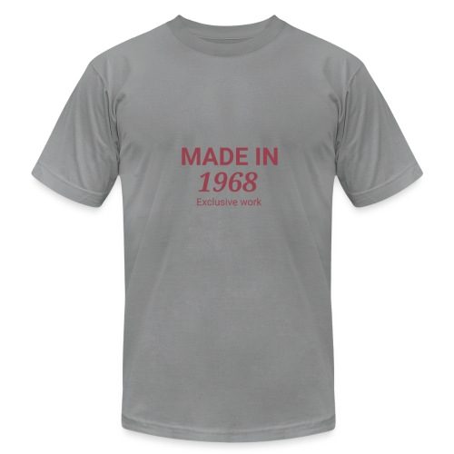 MADE IN 1968. Exclusive work Gift - Men's Fine Jersey T-Shirt