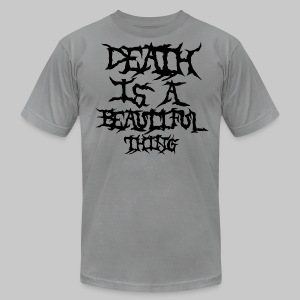 deathisabeautifulthing font - Men's Fine Jersey T-Shirt