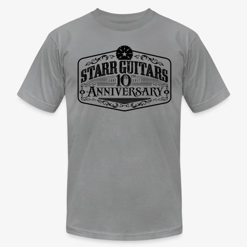 Starr Guitars 10th Anniversary Black Logo - Men's Fine Jersey T-Shirt