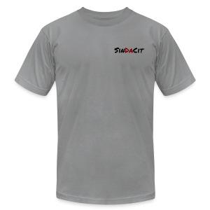 SinDaCit Text - Men's Fine Jersey T-Shirt