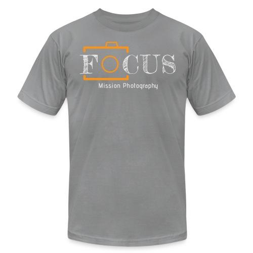 12x7 Focus Grey - Men's Fine Jersey T-Shirt