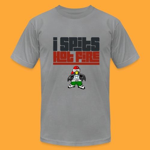 I Spits Hot Fire - Men's Fine Jersey T-Shirt