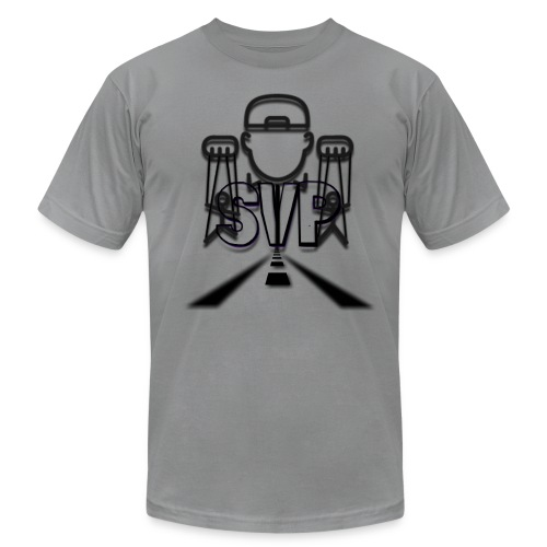 logo 2 4 - Men's Fine Jersey T-Shirt