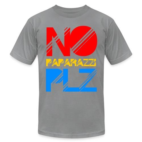 NO PAPPARAZI PLZ - Men's Fine Jersey T-Shirt