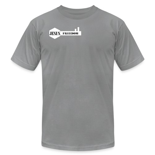 Jesus Freedom - Men's Fine Jersey T-Shirt