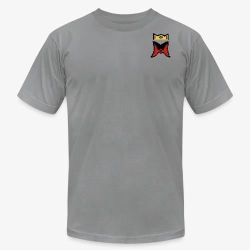 Logo 8bit - Men's Fine Jersey T-Shirt