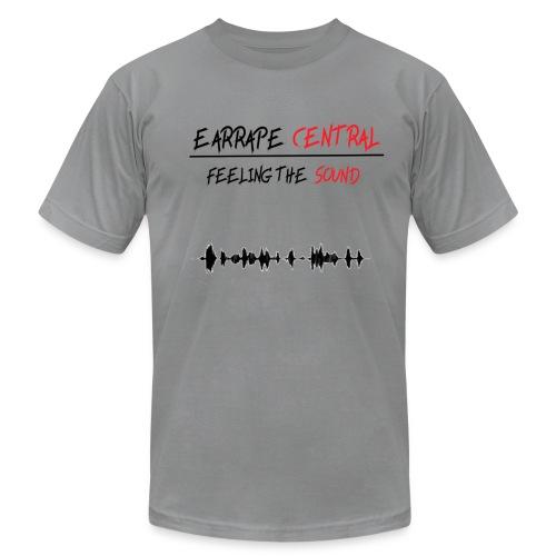 EARRAPE CENTRAL FEELING THE SOUND T-SHIRT - Men's Fine Jersey T-Shirt