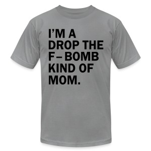 F BOMB MOM - Men's Fine Jersey T-Shirt
