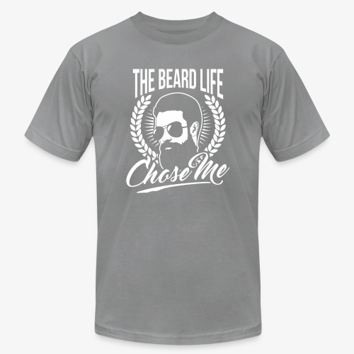 Beard Chose Me - Men's Fine Jersey T-Shirt