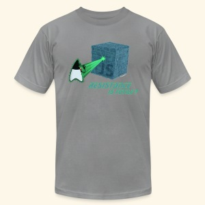 Resistance is futile? - Men's T-Shirt by American Apparel