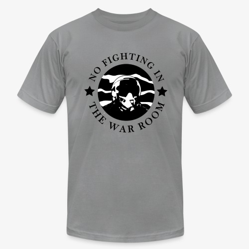 The War Room Motto - Pilot - Men's Fine Jersey T-Shirt