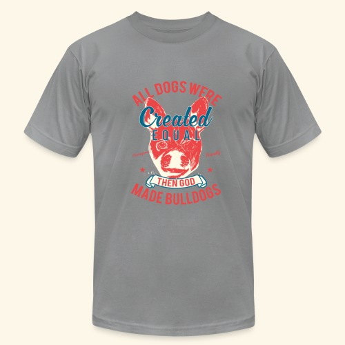 Bulldog - Men's Fine Jersey T-Shirt