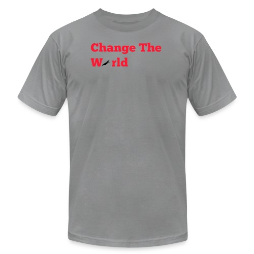 Change The World Falcon Shirt - Men's Fine Jersey T-Shirt