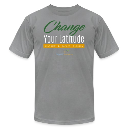 Change Your Latitude - Men's Fine Jersey T-Shirt