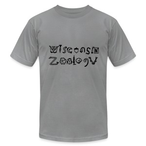 Wisconsin Zoology - Men's T-Shirt by American Apparel