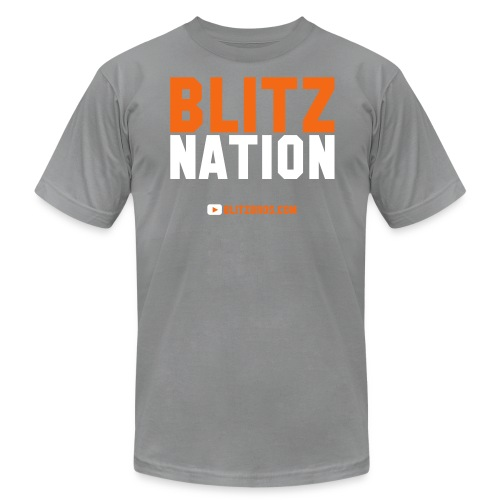 BLITZ NATION - MENS - Men's Fine Jersey T-Shirt