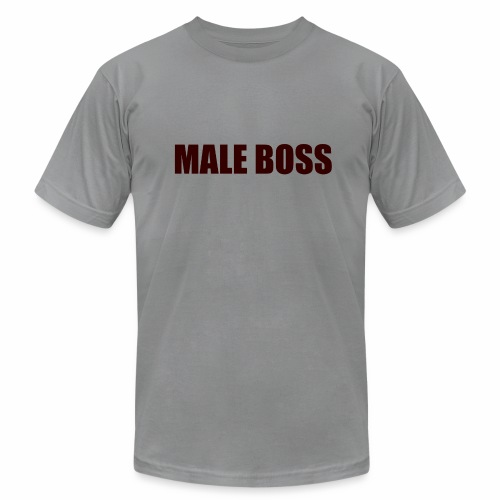 Male Boss Shirt - Men's Fine Jersey T-Shirt