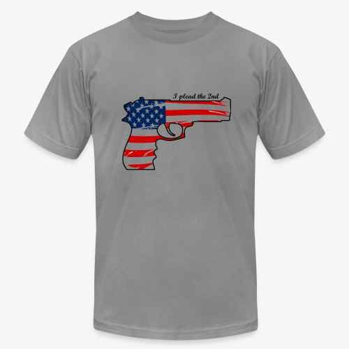 1911 flag - I plead the second - Men's Fine Jersey T-Shirt