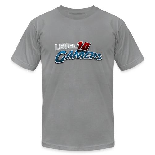 Level10Gamers Logo - Men's Fine Jersey T-Shirt