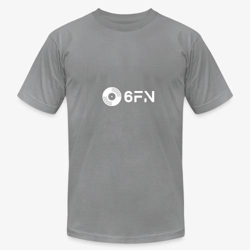 6FN White Logo - Men's Fine Jersey T-Shirt