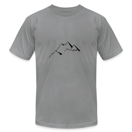mountain1 - Men's Fine Jersey T-Shirt
