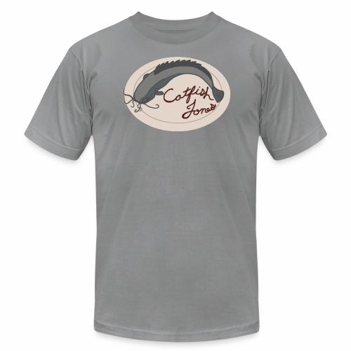 Fish Painting - Men's Fine Jersey T-Shirt