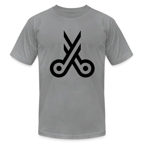 Scissors Logo - Men's  Jersey T-Shirt