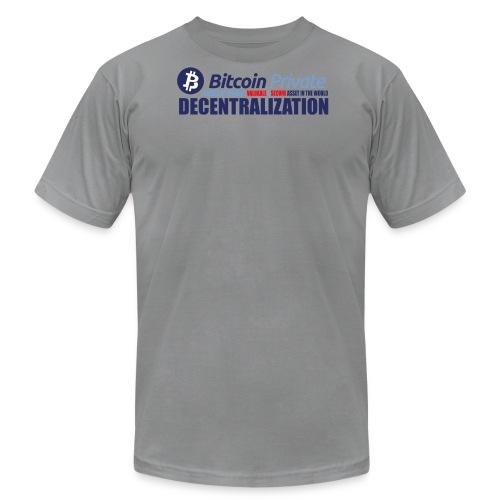 Bitcoin Private 001 - Men's Fine Jersey T-Shirt