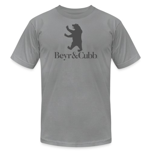 Bear and Cubb Heraldry Bear - Men's Fine Jersey T-Shirt