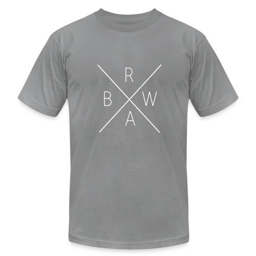 BRWA ShirtX White - Men's  Jersey T-Shirt