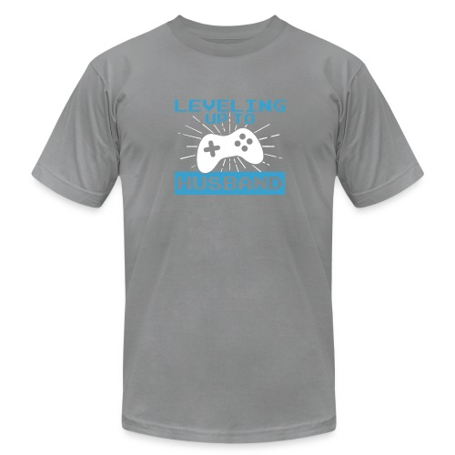 Funny Leveling Up To Husband T-Shirt - Men's Fine Jersey T-Shirt