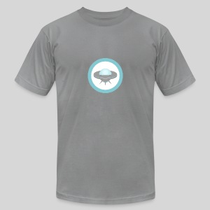 ALIENS WITH WIGS - Small UFO - Men's Fine Jersey T-Shirt