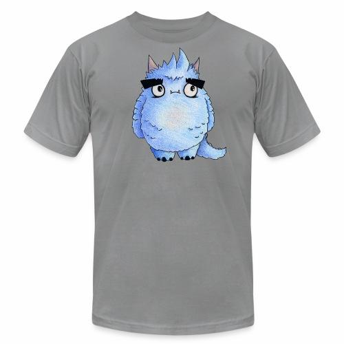 Little Blue Monster - Men's Fine Jersey T-Shirt