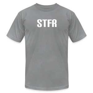 STFR White - Men's T-Shirt by American Apparel