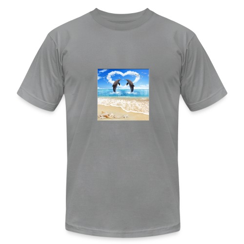Dolphins - Men's Fine Jersey T-Shirt