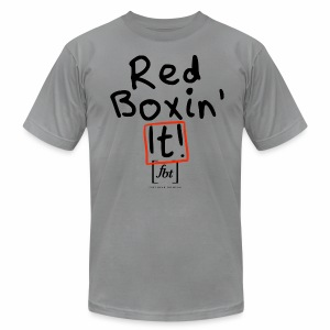 Red Boxin' It! [fbt] - Men's T-Shirt by American Apparel